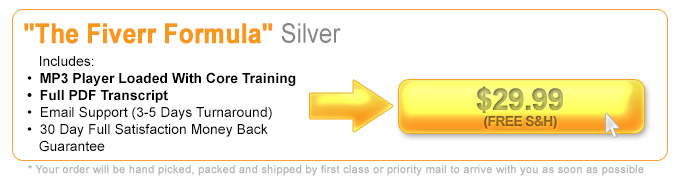 Click Here To Secure The Silver Edition Of The Fiverr Formula
